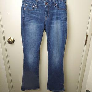 Lucky brand jeans Lolita boot dark wash size 4